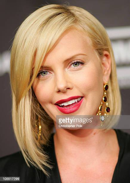 Charlize Theron during The 12th Annual Premiere Women in Hollywood at The Beverly Hilton Hotel in Los Angeles California United States