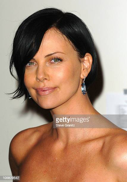 Charlize Theron during The 62nd Annual Golden Globe Awards Press Room at Beverly Hilton Hotel in Beverly Hills California United States