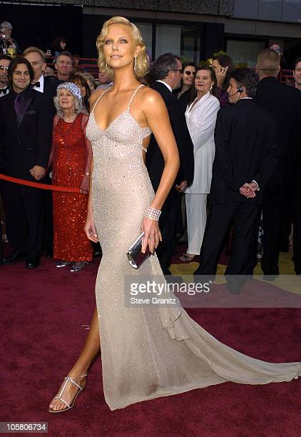 Charlize Theron during The 76th Annual Academy Awards - Arrivals at The Kodak Theater in Hollywood, California, United States.