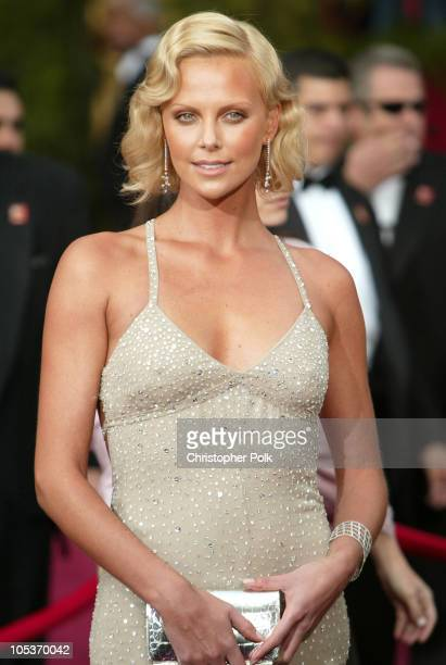 Charlize Theron during The 76th Annual Academy Awards - Arrivals by Chris Polk at Kodak Theatre in Hollywood, California, United States.