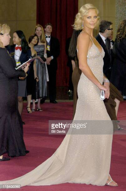 Charlize Theron during The 76th Annual Academy Awards Arrivals by Bill Davila at Kodak Theater at Hollywood and Highland in Hollywood California...