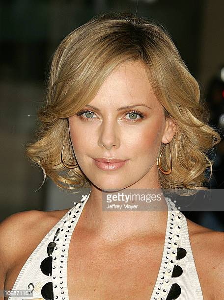 Charlize Theron during The 78th Annual Academy Awards Nominees Luncheon Outside Arrivals at Beverly Hilton Hotel in Beverly Hills California United...