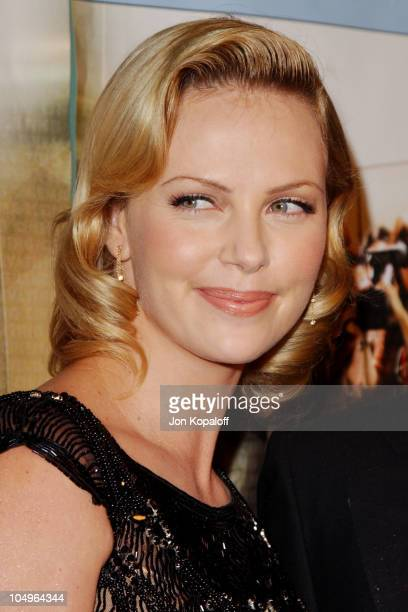 """Charlize Theron during World Premiere of """"Monster"""" At The Closing Night of AFI Fest 2003 at The ArcLight Cinerama Dome in Hollywood, California,..."""