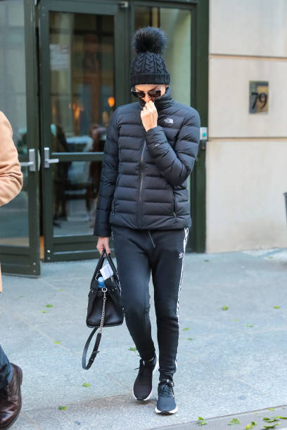 NY: Celebrity Sightings In New York City - November 13, 2019