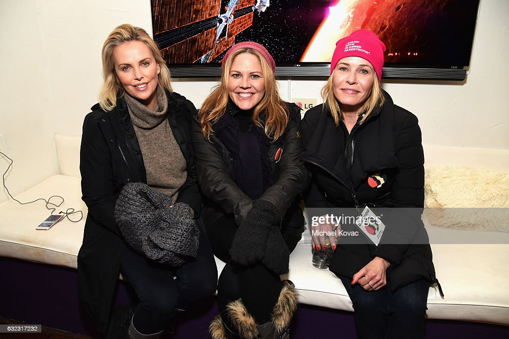 Charlize Theron Mary McCormack And Chelsea Handler Attend Park City Live Presents The Hub