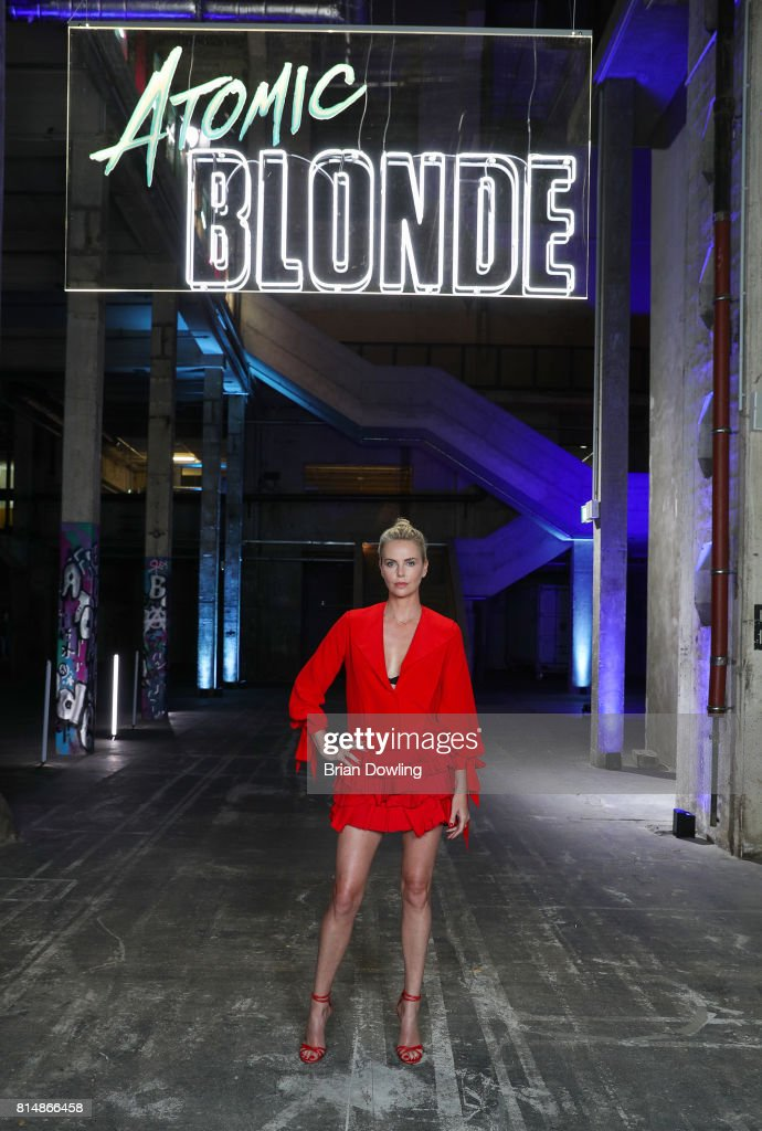 Charlize Theron Promotes 'Atomic Blonde' In Berlin : News Photo