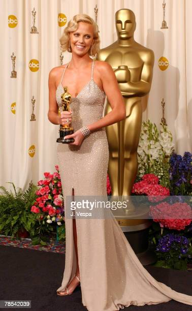 Charlize Theron winner for Best Actress for 'Monster'