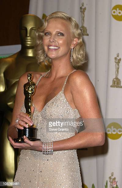 Charlize Theron winner of Best Actress for 'Monster'