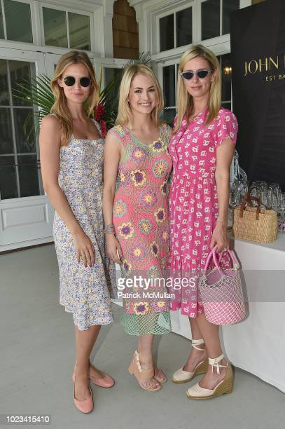 Charlott Cordes Amanda Hearst and Nicky Hilton Rothschild attend A Maison de Mode Summer Fete hosted by Amanda Hearst at Private Residence on August...