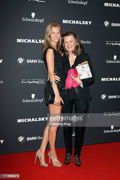 Charlott Cordes And Heidi Gross at the Great Michalsky Party In The Mercedes Benz Fashion Week in Berlin