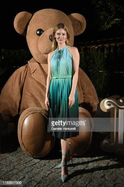Charlott Cordes attends a dinner after the Max Mara Resort 2020 Fashion Show at Neues Museum on June 03 2019 in Berlin Germany