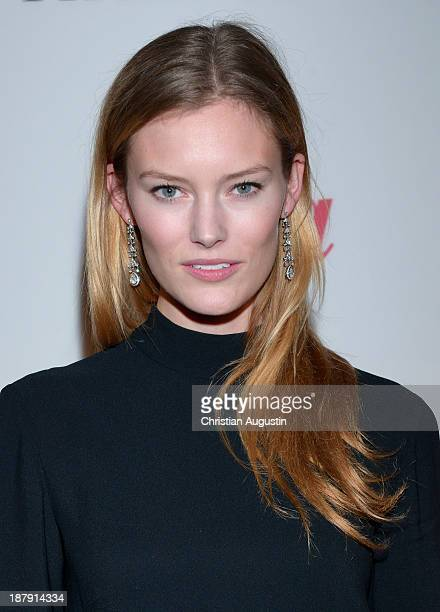 Charlott Cordes attends GALA event Where Diamonds meet Red Carpet at the restaurant The Bank on November 13 2013 in Hamburg Germany
