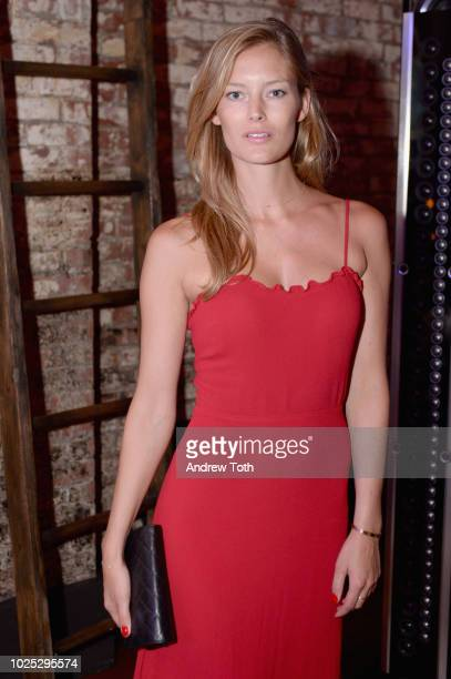Charlott Cordes attends Humans Of Fashion Foundation App Launch on August 29 2018 in New York City