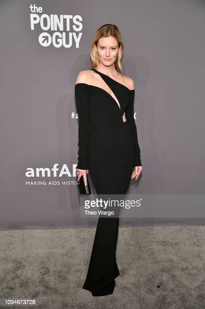 Charlott Cordes attends the amfAR New York Gala 2019 at Cipriani Wall Street on February 6 2019 in New York City