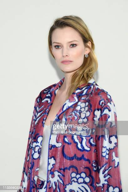 Charlott Cordes attends the Valentino show as part of the Paris Fashion Week Womenswear Fall/Winter 2019/2020 on March 03 2019 in Paris France