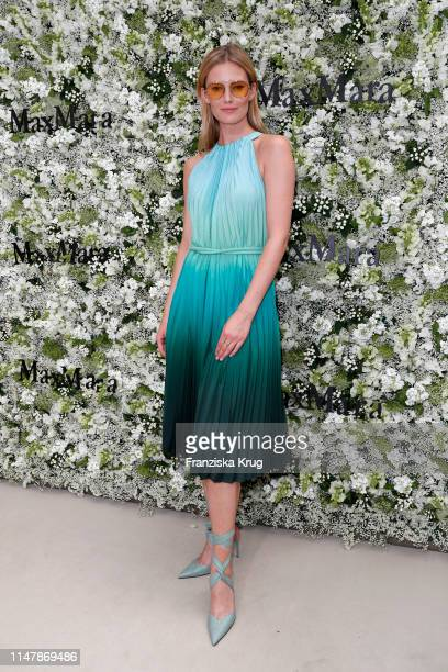 Charlott Cordes during the Max Mara Resort 2020 Fashion Show at Neues Museum on June 3 2019 in Berlin Germany
