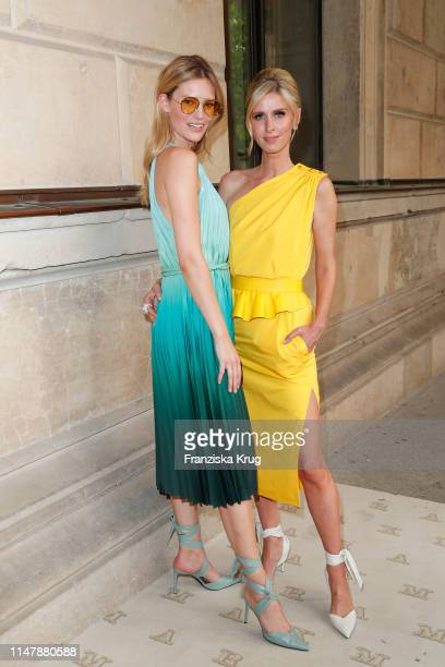 Charlott Cordes wearing Max Mara and Nicky Hilton Rothschild during the Max Mara Resort 2020 Fashion Show at Neues Museum on June 3 2019 in Berlin...
