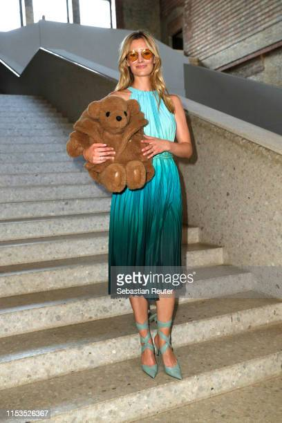 Charlott Cordes wearing Max Mara attends the Max Mara Resort 2020 Fashion Show at Neues Museum on June 03 2019 in Berlin Germany