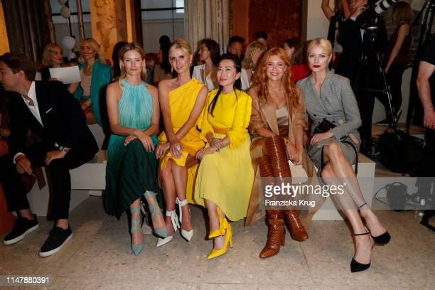 Charlott Cordes wearing Max Mara Nicky Hilton Rothschild wearing Max Mara Tina Craig wearing Max Mara Palina Rojinski wearing Max Mara and Franziska...