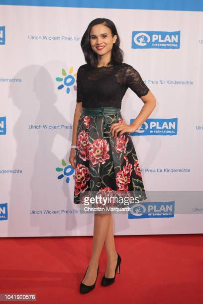 Charlott Maihoff attends the Ulrich Wickert and Peter SchollLatour award at Bar jeder Vernunft on September 27 2018 in Berlin Germany