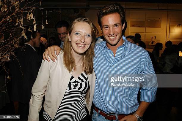 Charlotta and Antonio Verga attend Matt Jones Opening at CVZ Contemporary on September 27 2006 in New York City