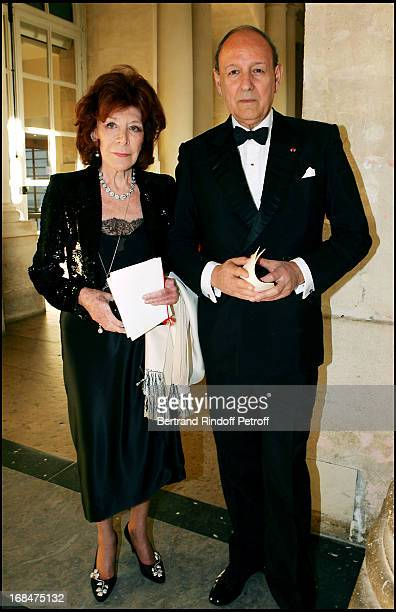 Charlotte Aillaud and Ambassador of Argentina Archibald Lanus at Dinner To Benefit The Sovereign Military Order Of Malta In Versailles