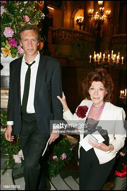 Charlotte Aillaud and guest at The Arop Gala At Opera Garnier