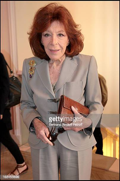 Charlotte Aillaud at Ines De La Fressange Awarded Knight in the National Order of the Legion of Honor
