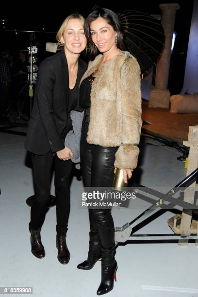 Charlotte Assaf and Dara Tomanovich attend PIER 59 Studios 15th Anniversary Party at PIER 59 Studios on February 12 2010 in New York City
