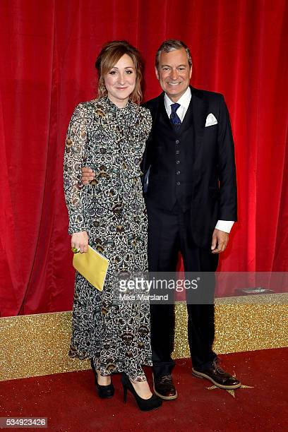 Charlotte Bellamy and John Middleton attend the British Soap Awards 2016 at Hackney Empire on May 28 2016 in London England
