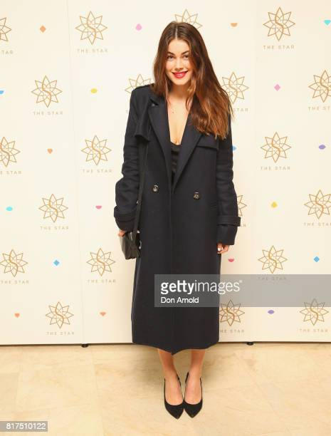 Charlotte Best arrives ahead of the Studios At The Star Launch at The Star on July 18 2017 in Sydney Australia