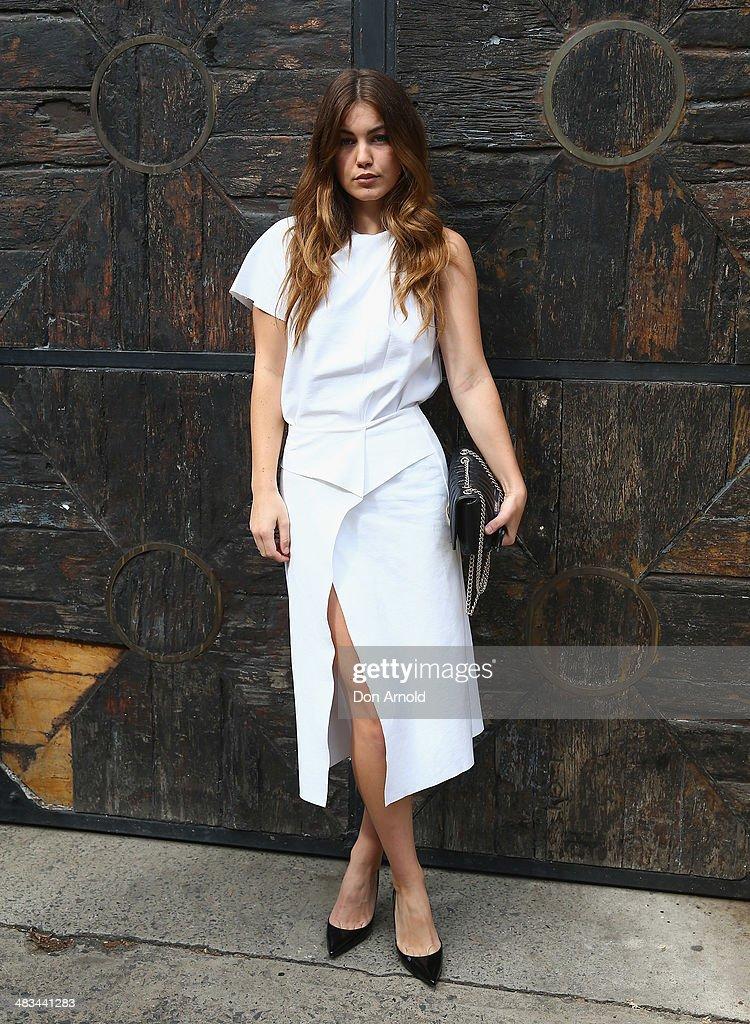 Dion Lee - Arrivals - Mercedes-Benz Fashion Week Australia 2014
