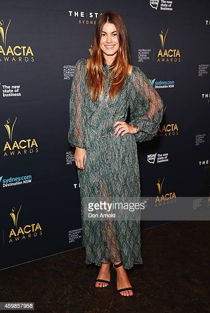 Charlotte Best attends the 4th AACTA Awards Nominations event at The Star on December 3 2014 in Sydney Australia