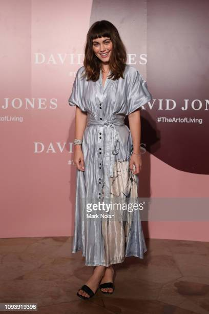 Charlotte Best attends the David Jones AW19 Season Launch 'The Art of Living' at The Museum of Old and New Art on February 5 2019 in Hobart Australia