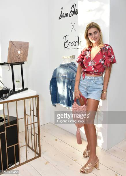 Charlotte Bickley attends the Modern Luxury Sam Edelman Summer Fashion Event on July 12 2018 in Southampton New York