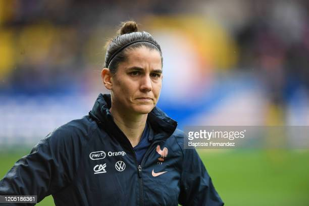 Charlotte BILBAULT of France before the Tournoi de France International Women's soccer match between France and Canada on March 4 2020 in Calais...