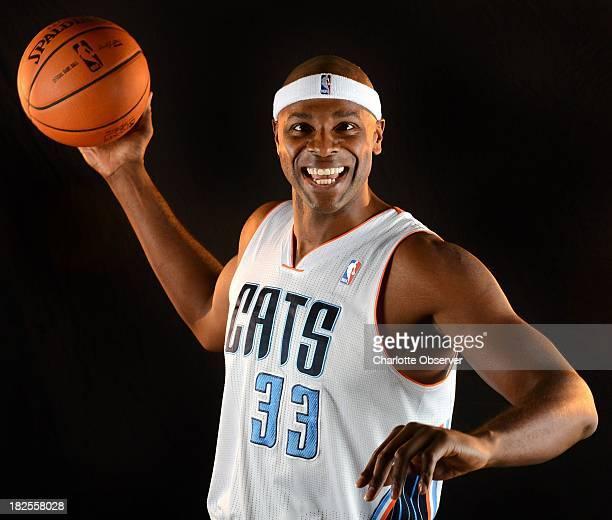 Charlotte Bobcats center Brendan Haywood poses for a photo on Monday September 30 in Charlotte North Carolina