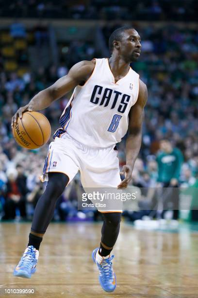 Charlotte Bobcats shooting guard Ben Gordon dribbles during the Boston Celtics 10588 victory over the Charlotte Bobcats at TD Garden on March 16 2013...