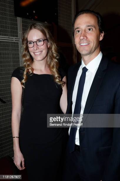 Charlotte Bouygues and Charles Guyot attend the Fondation Prince Albert II De Monaco Evening at Salle Gaveau on February 21 2019 in Paris France