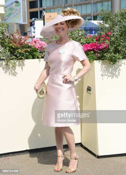 Charlotte Britton attends day 2 of Royal Ascot at Ascot Racecourse on June 21 2017 in Ascot England