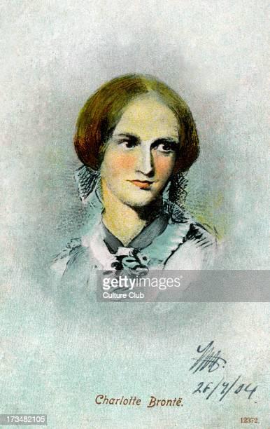 Charlotte Brontë / Bronte portrait British novelist 21 April 1816 – 31 March 1855