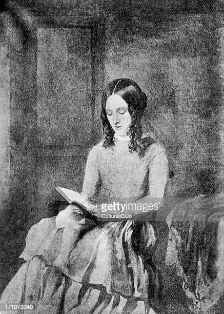 British novelist 18161855 From a water colour by Paul Heger 1850