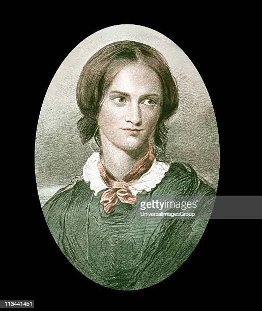Charlotte Bronte English novelist After portrait by George Richmond Author of Jane Eyre Shirley Vilette