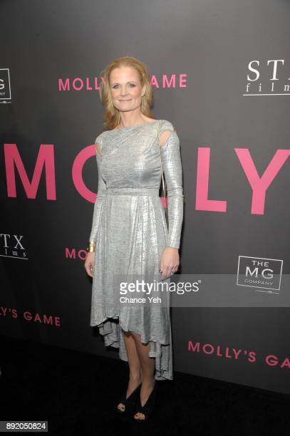 Charlotte Bruus Christensen attends 'Molly's Game' New York premiere at AMC Loews Lincoln Square on December 13 2017 in New York City