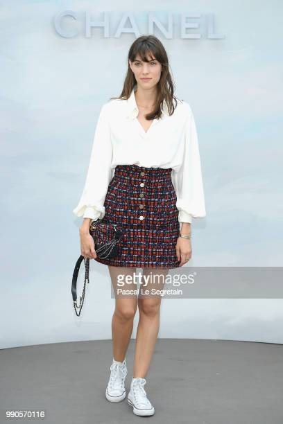 Charlotte Cardin attends the Chanel Haute Couture Fall Winter 2018/2019 show as part of Paris Fashion Week on July 3 2018 in Paris France