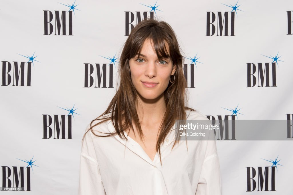 Charlotte Cardin poses for a photo during Austin City Limits Festival at Zilker Park on October 8, 2017 in Austin, Texas.