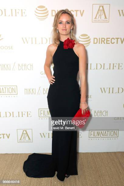 Charlotte Carroll at the Wildlife party presented by Grey Goose and DIRECTV at Nikki Beach Cannes 2018 on May 9 2018 in Cannes France