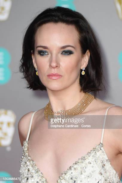 Charlotte Carroll attends the EE British Academy Film Awards 2020 at Royal Albert Hall on February 02, 2020 in London, England.