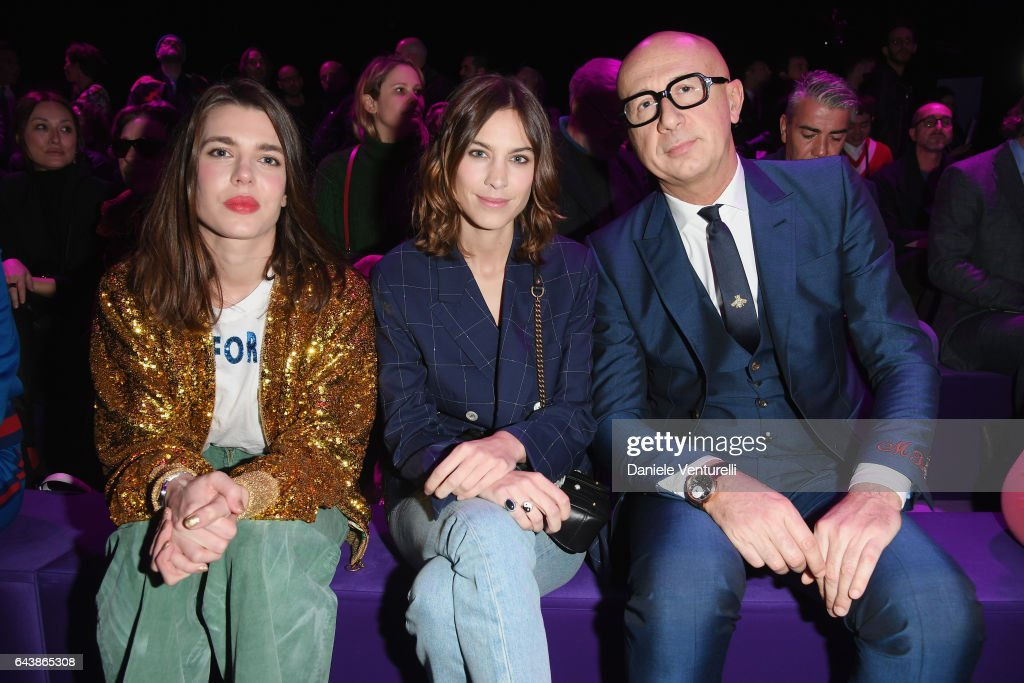 Gucci - Front Row - Milan Fashion Week FW17 Photos and Images ...