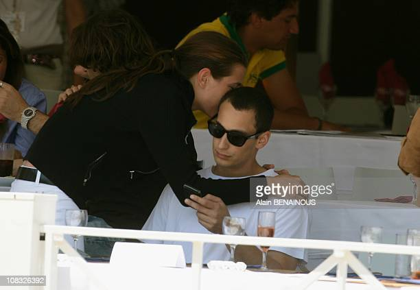 Charlotte Casiraghi and Alex Dellal attend the 15th Monte Carlo International Jumping in Monte Carlo Monaco on June 25th 2010